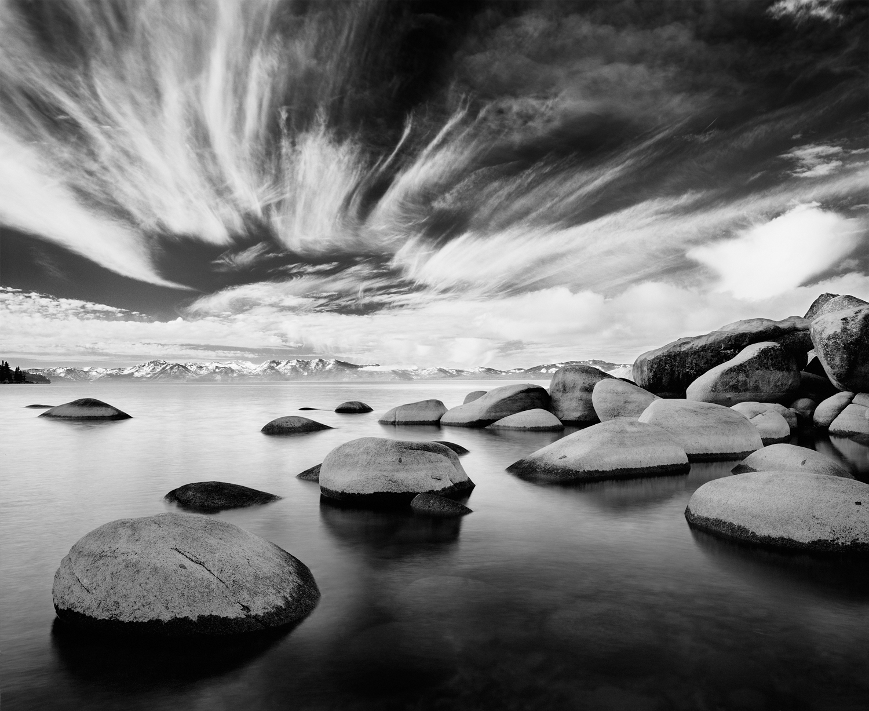 Dream, Lake Tahoe Black and White