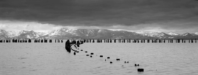 Glenbrook Pier Panorama II, Lake Tahoe