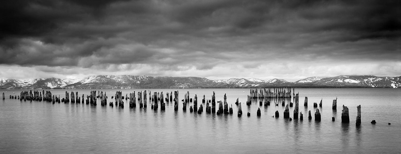 Glenbrook Pier Panorama, Lake Tahoe