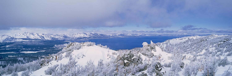 Sky View Panorama, Heavenly, Lake Tahoe