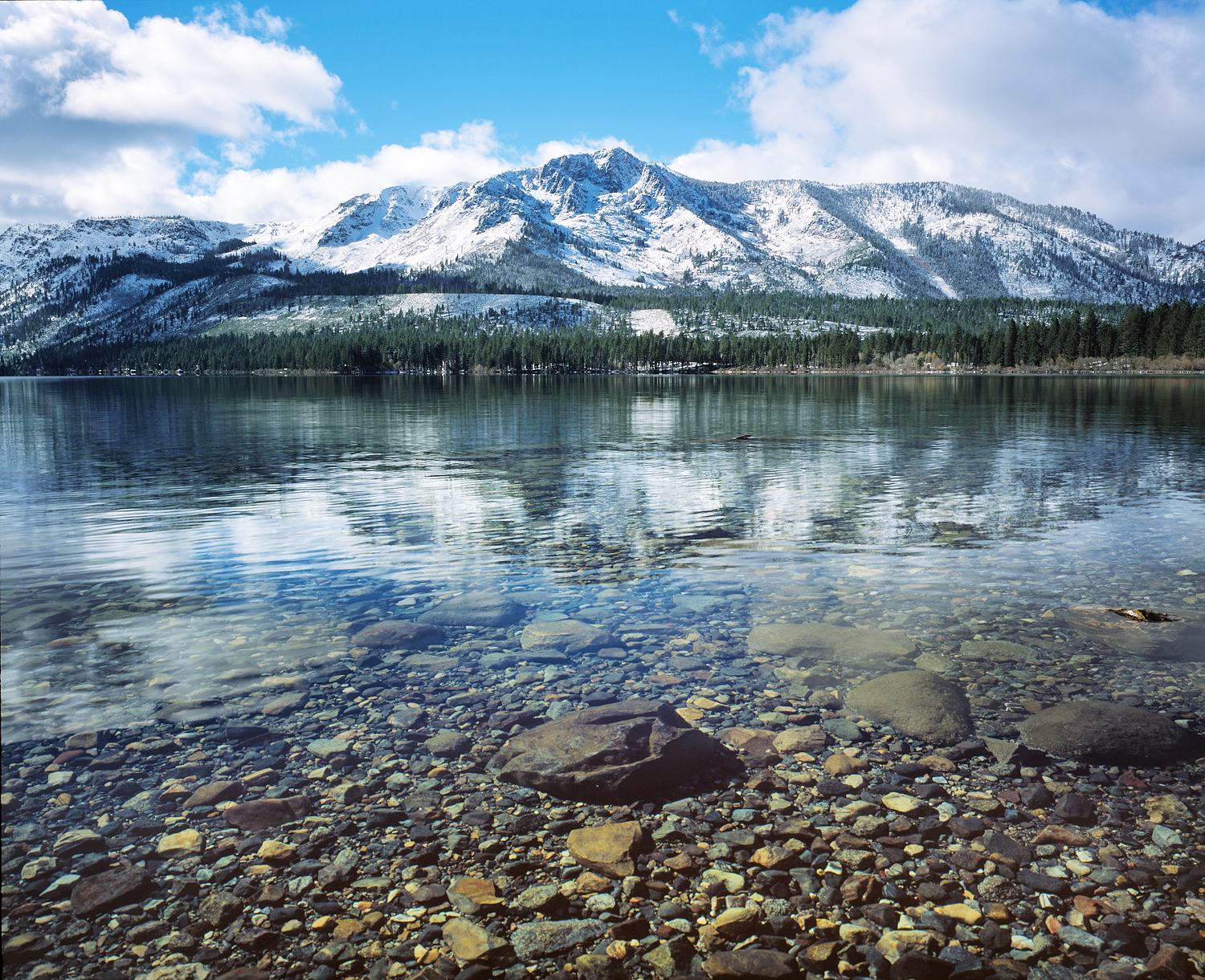 Fallen Leaf Clarity and Mount Tallac