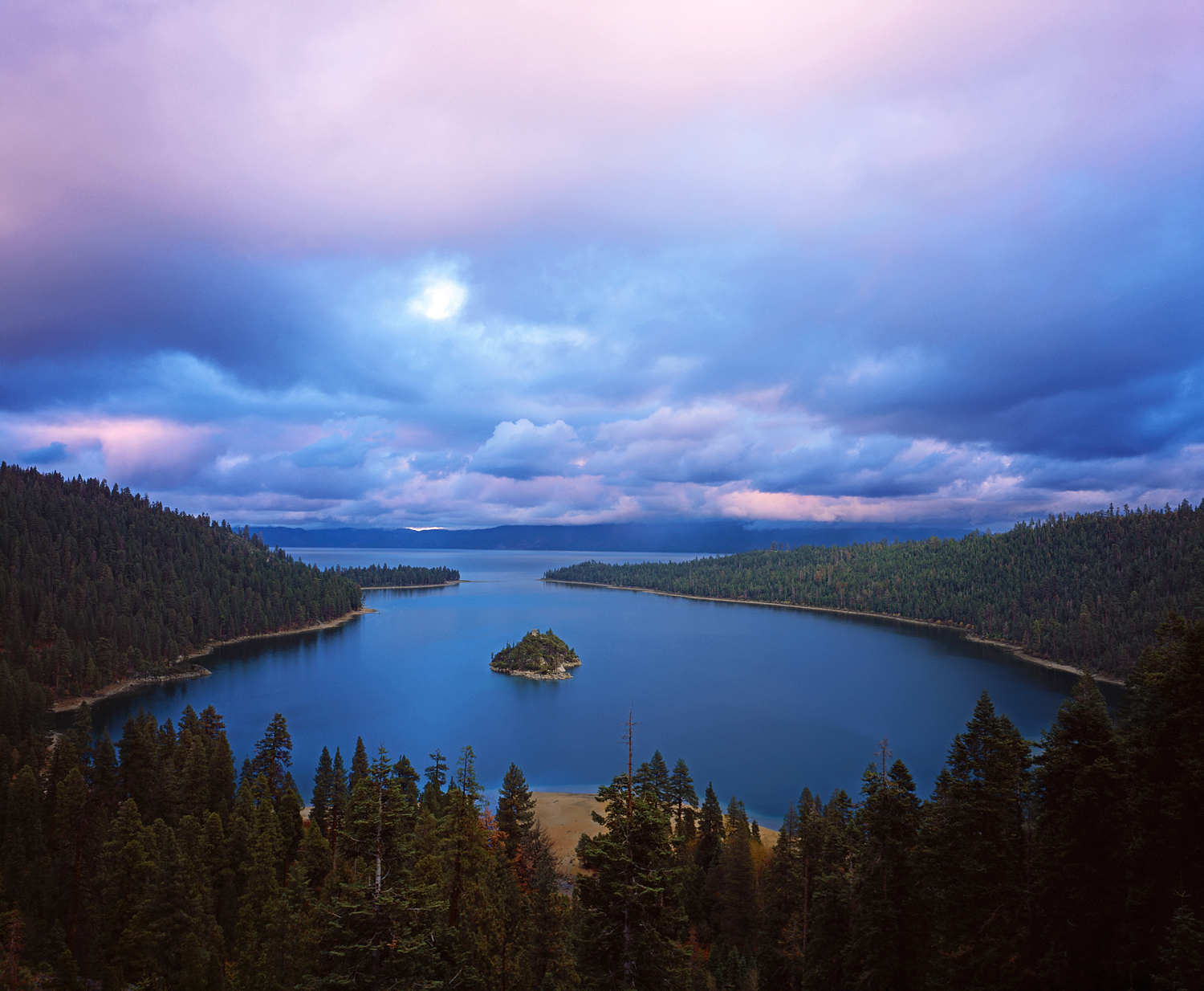Cotton Candy Sunrise, Emerald Bay, Lake Tahoe