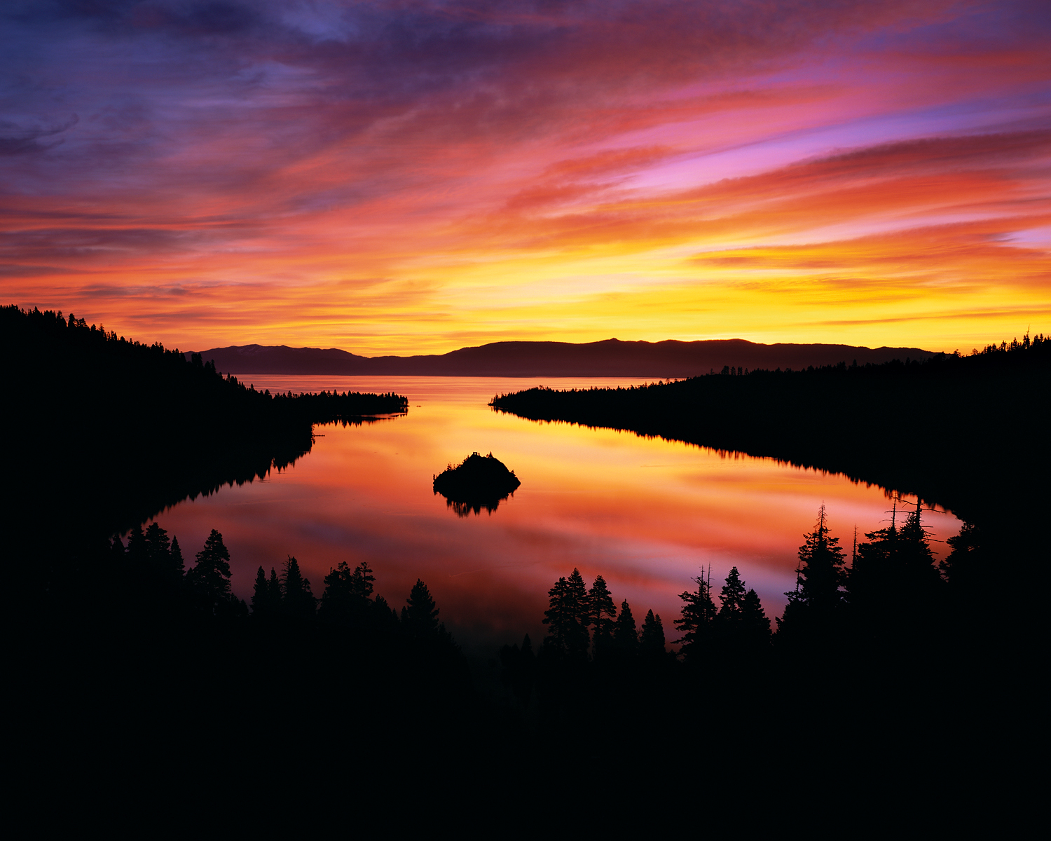 Molten Morning, Emerald Bay, Lake Tahoe