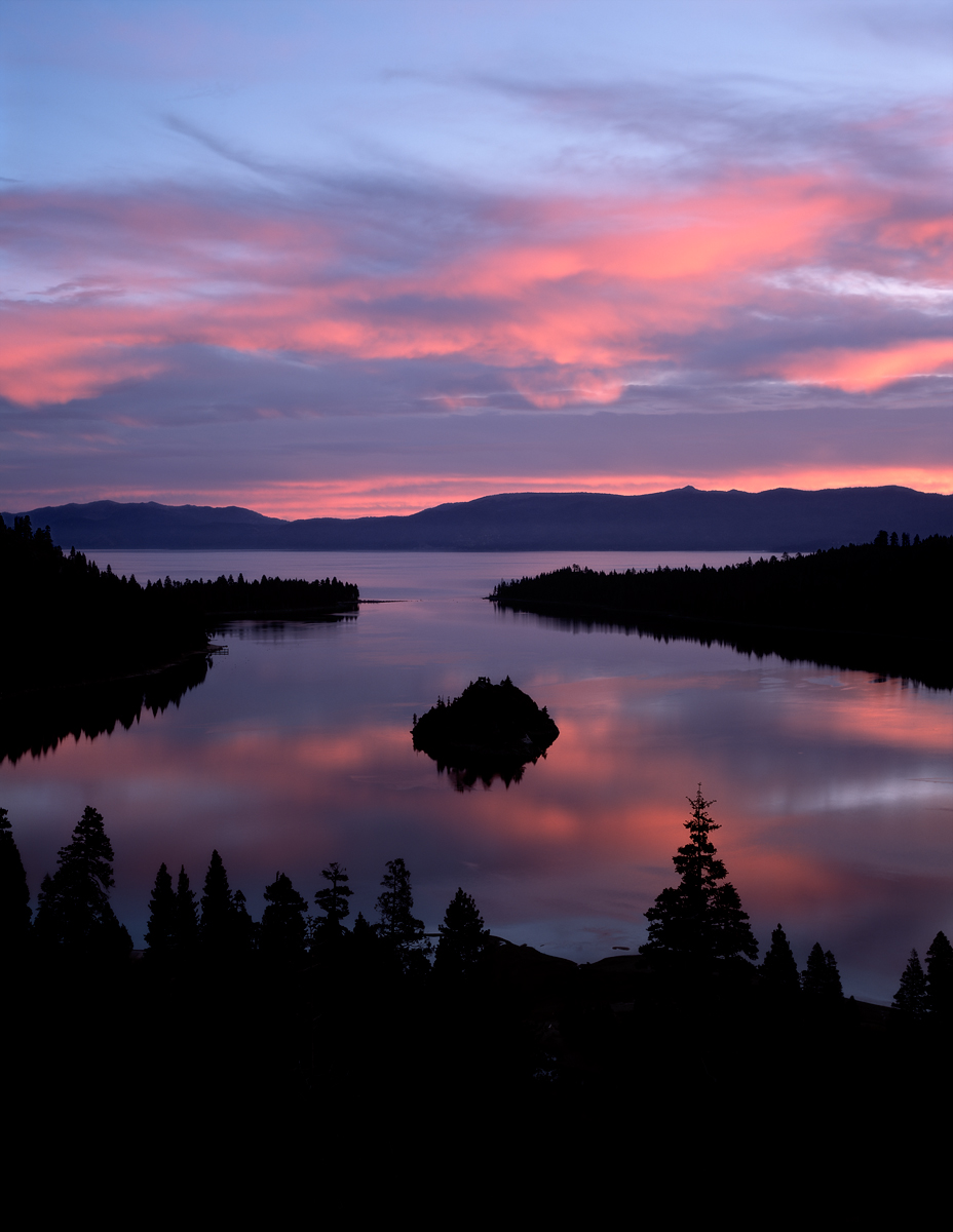 Pink Whisper, Emerald Bay, Lake Tahoe