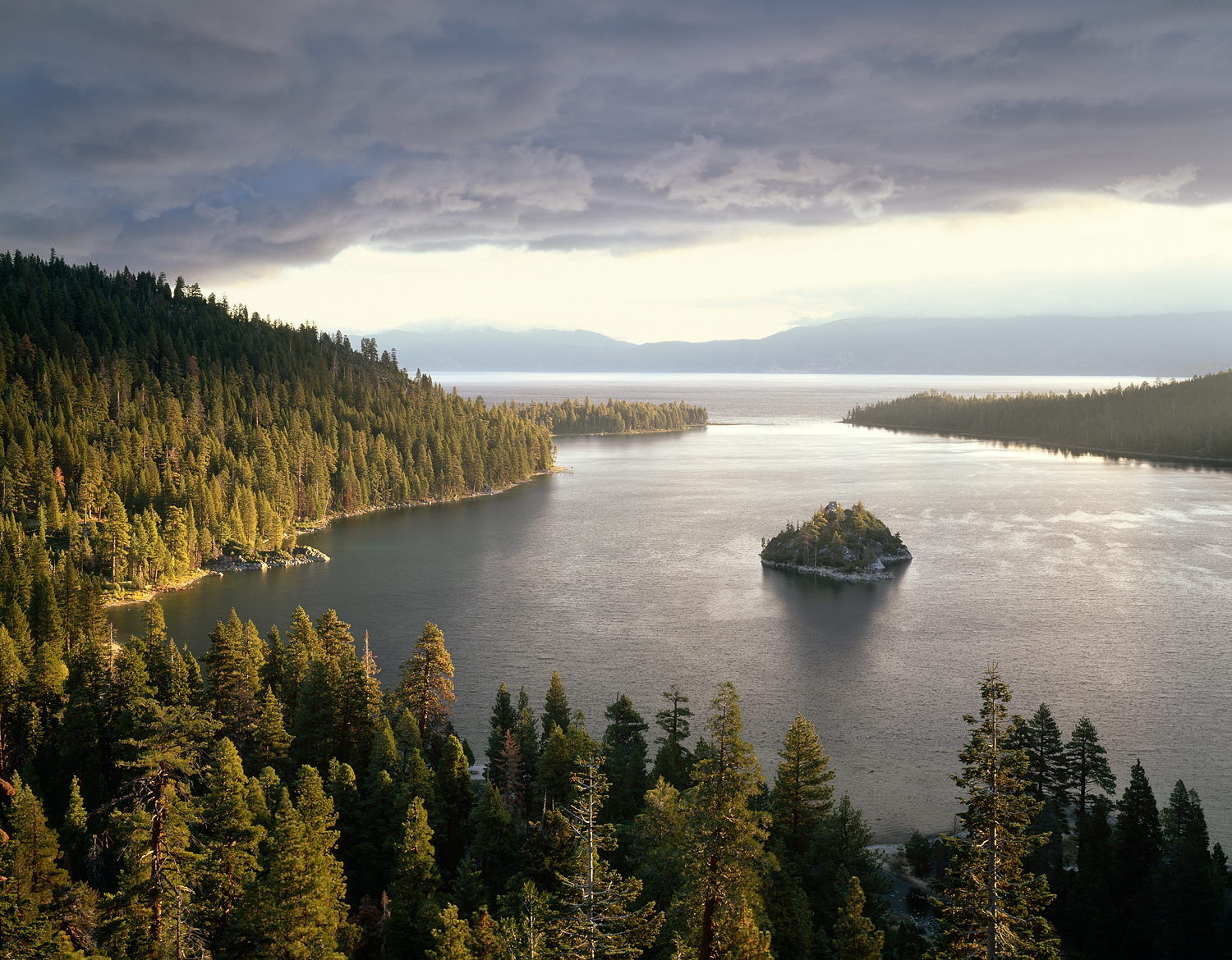 Storm Light, Emerald Bay, Lake Tahoe