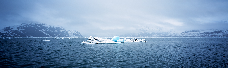 Drifting Iceberg, Glacier Bay, Alaska