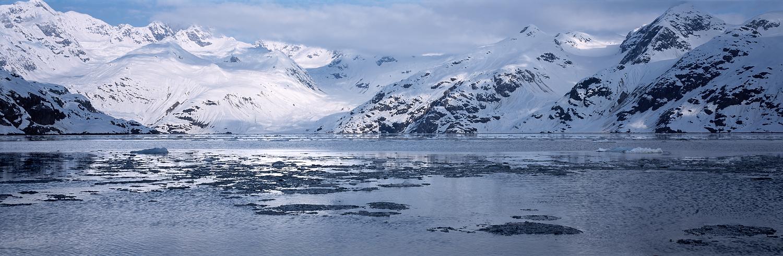 Johns Hopkins Inlet Panorama, Glacier Bay, Alaska