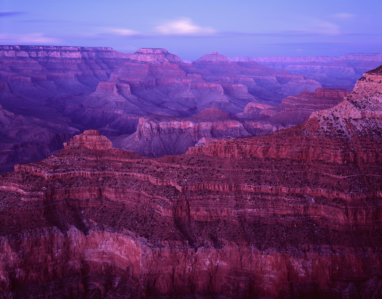 Twilight Illumination, Grand Canyon, Arizona