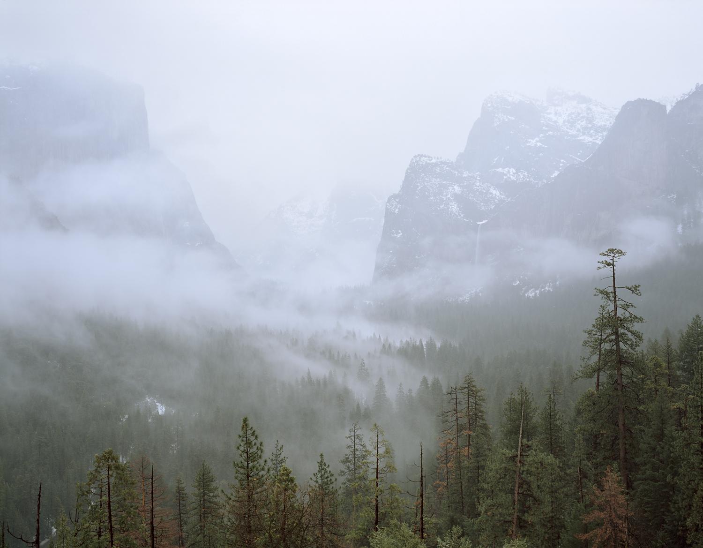 Winter Mist, Yosemite Valley, California