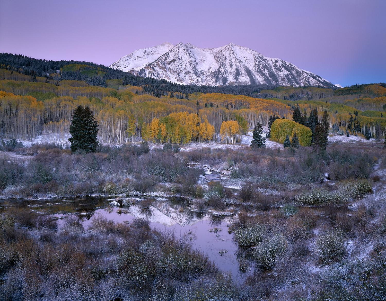 Autumn Morning, Independence Pass, Colorado