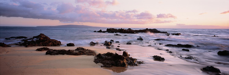 Kihei Sunset Panorama, Maui, Hawaii