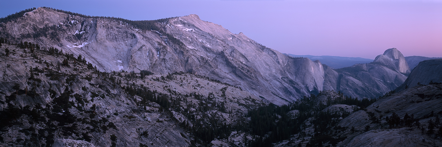 Twilight from Olmsted Point, Yosemite, California