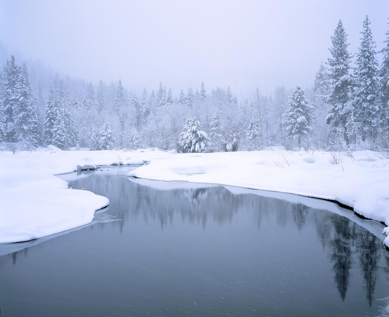Truckee River, Snowing