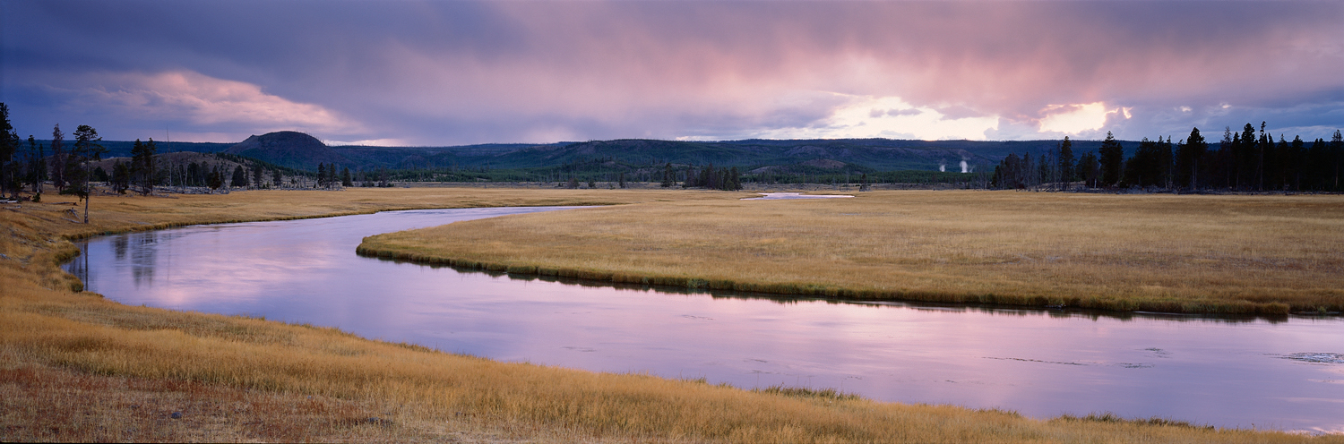 Madison River Sunset Panorama