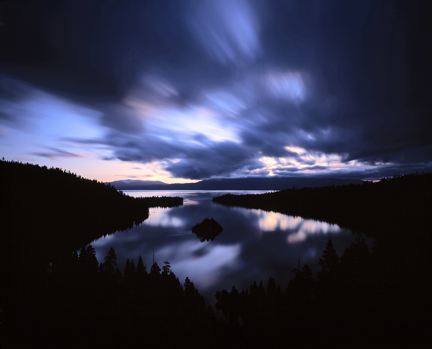 Mystic Sunrise, Emerald Bay, Lake Tahoe