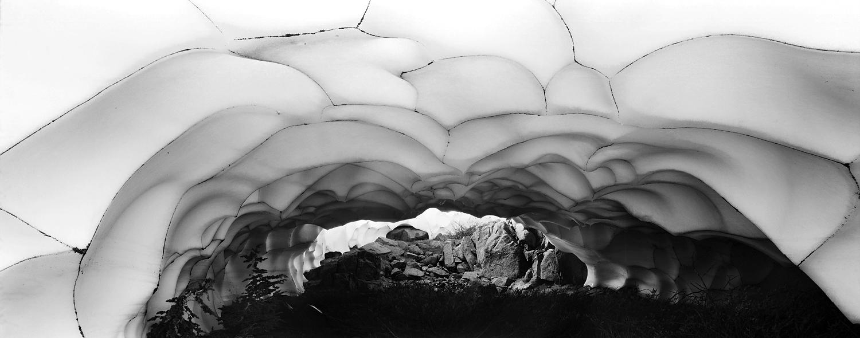 High Sierra Snow Cave