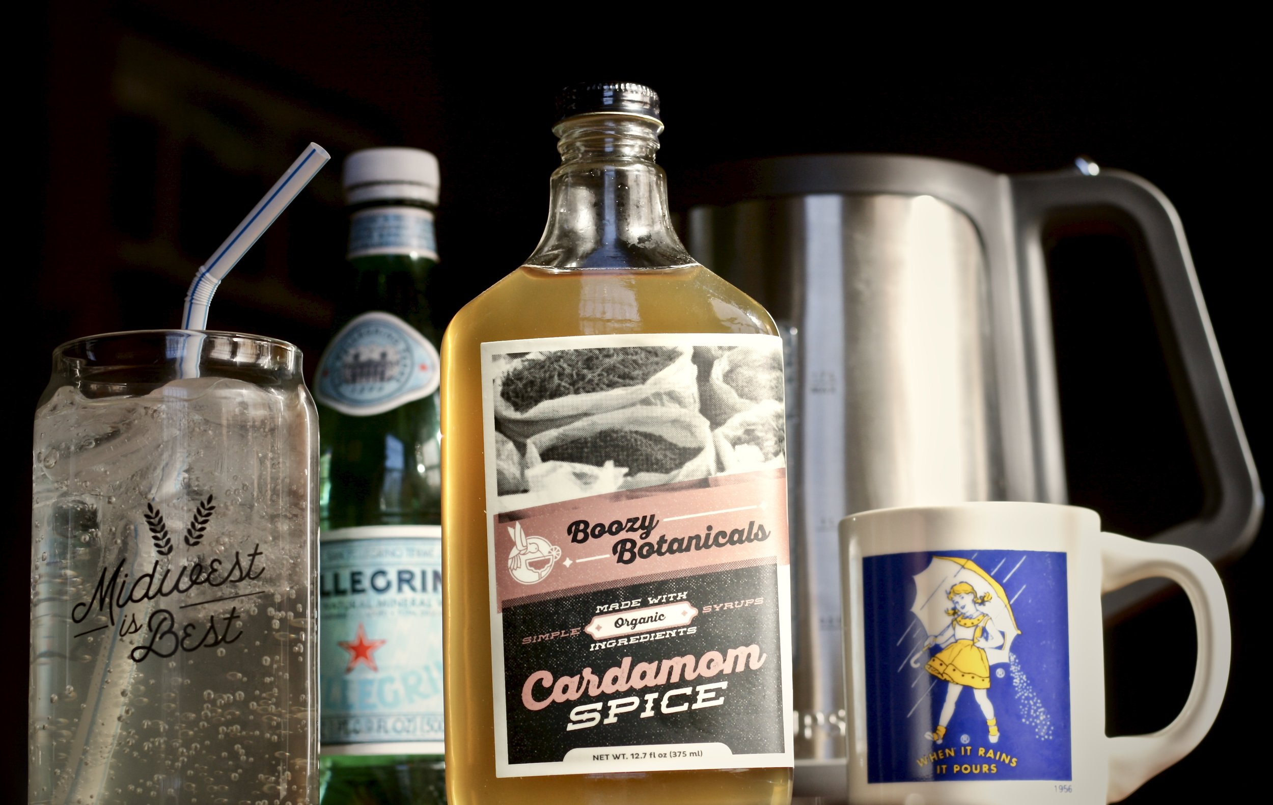 Online Farmers Market, Farmers Market, Boozy Botanicals, Organic Infused Syrups