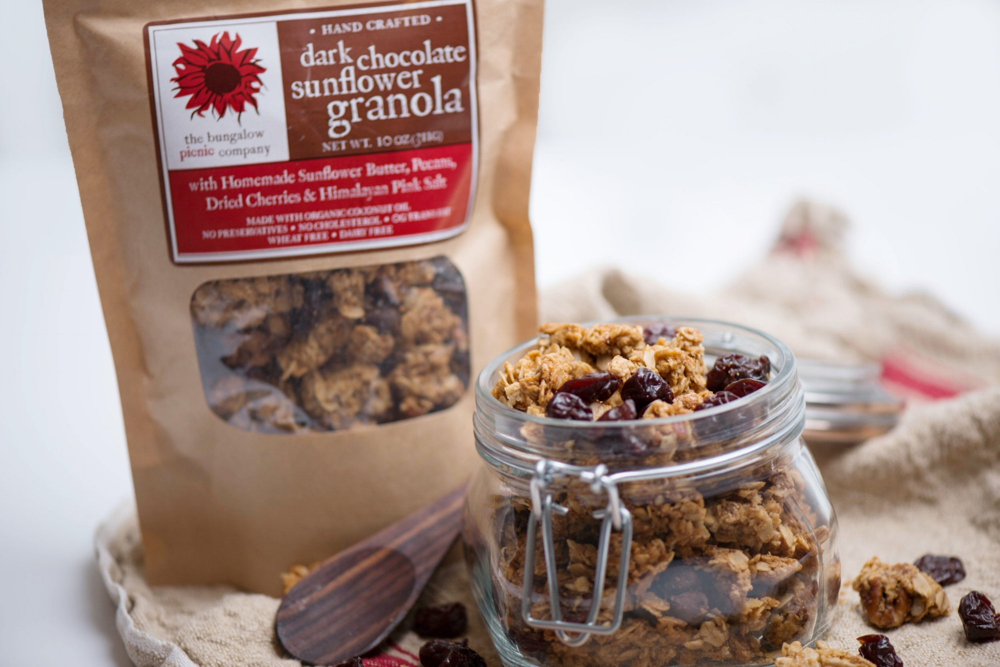 Online Farmers Market, Wheat Free Cereal, Bungalow Picnic Cereal, Delicious Granola