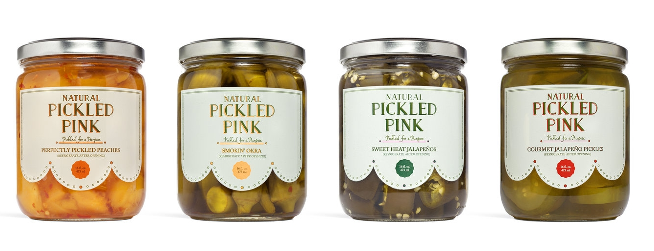 Pickled Pink, Georgia Brand, Pickling, Condiments, Online Farmers Market