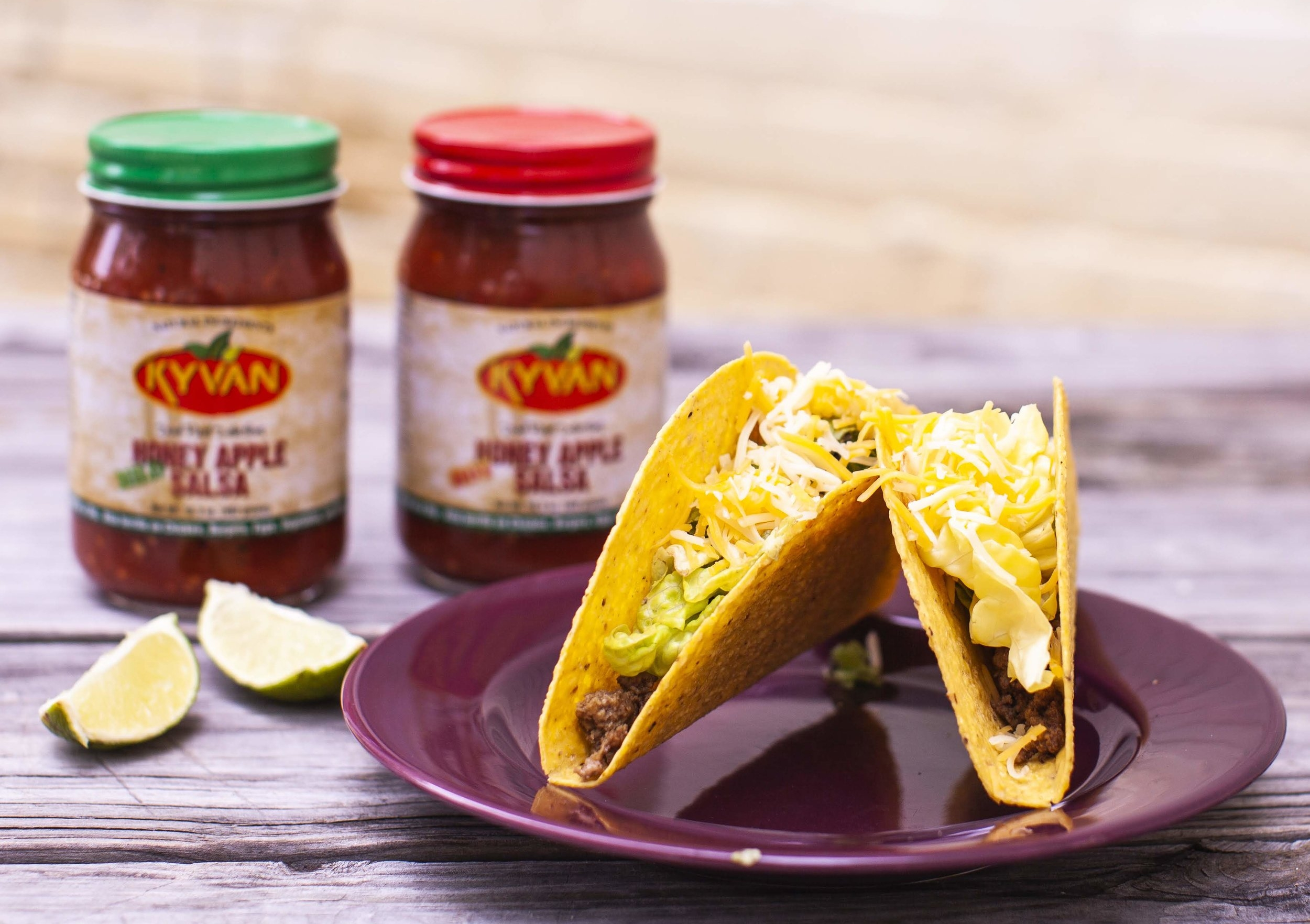 KYVAN Foods, specialty salsas and sauces created by Reggie Kelly from the NFL, Online Farmers Market