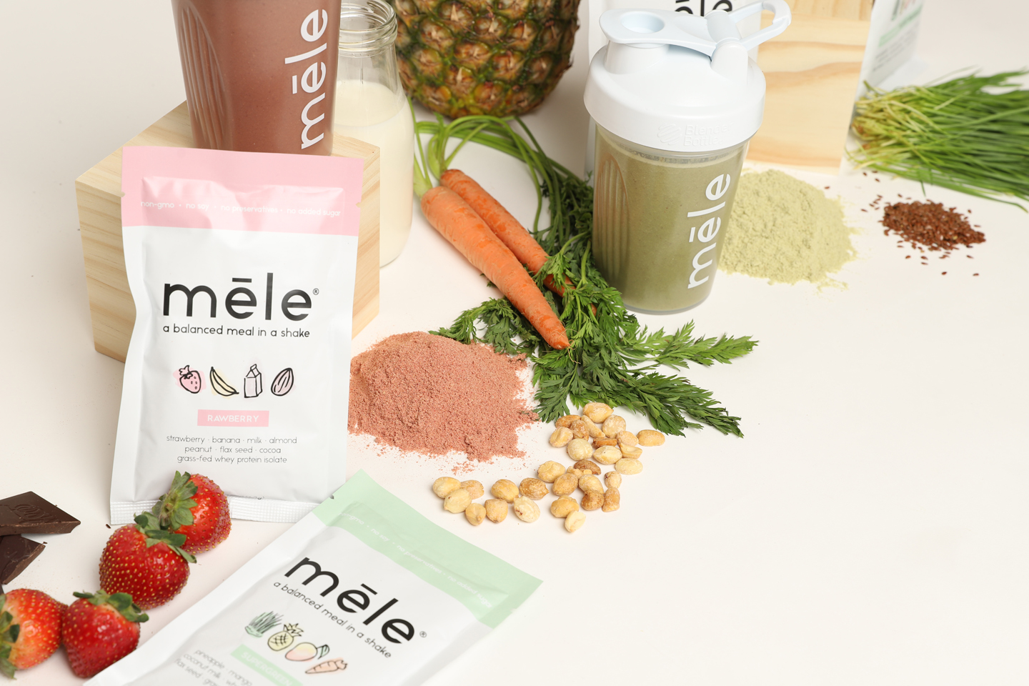 Mele shakes are delicious and healthy superfood shakes. Discover them and other natural food brands on The Online Farmers Market.