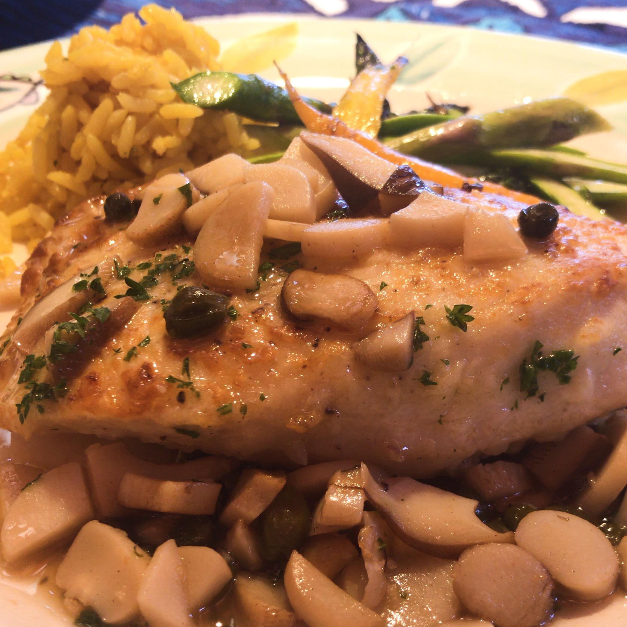 Mamas Fish House, Best Restaurants in Maui, HI. Wahoo Dinner.