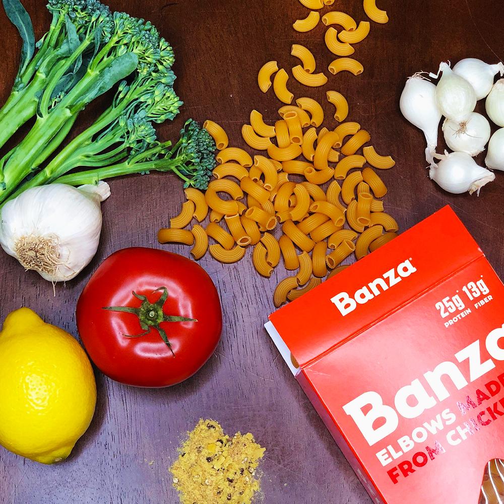 Banza Pasta Recipe