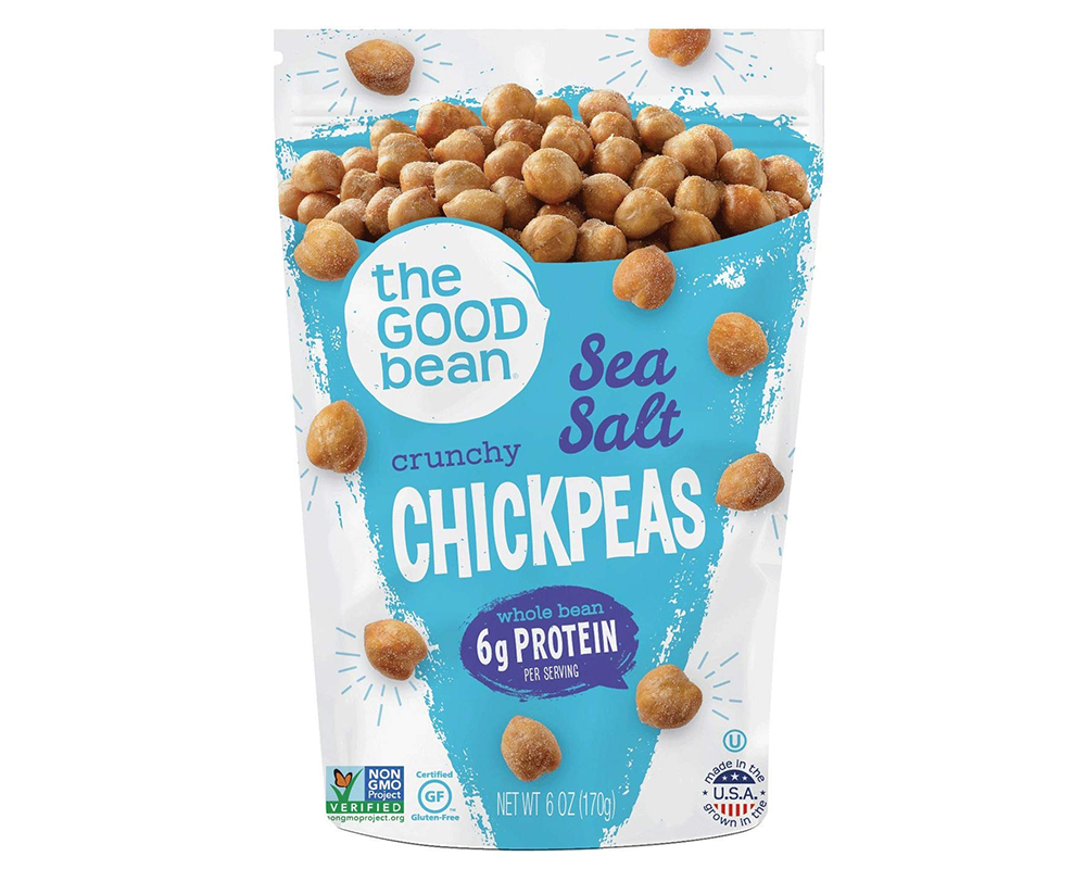 Buy The Good Bean chickpea snack online.