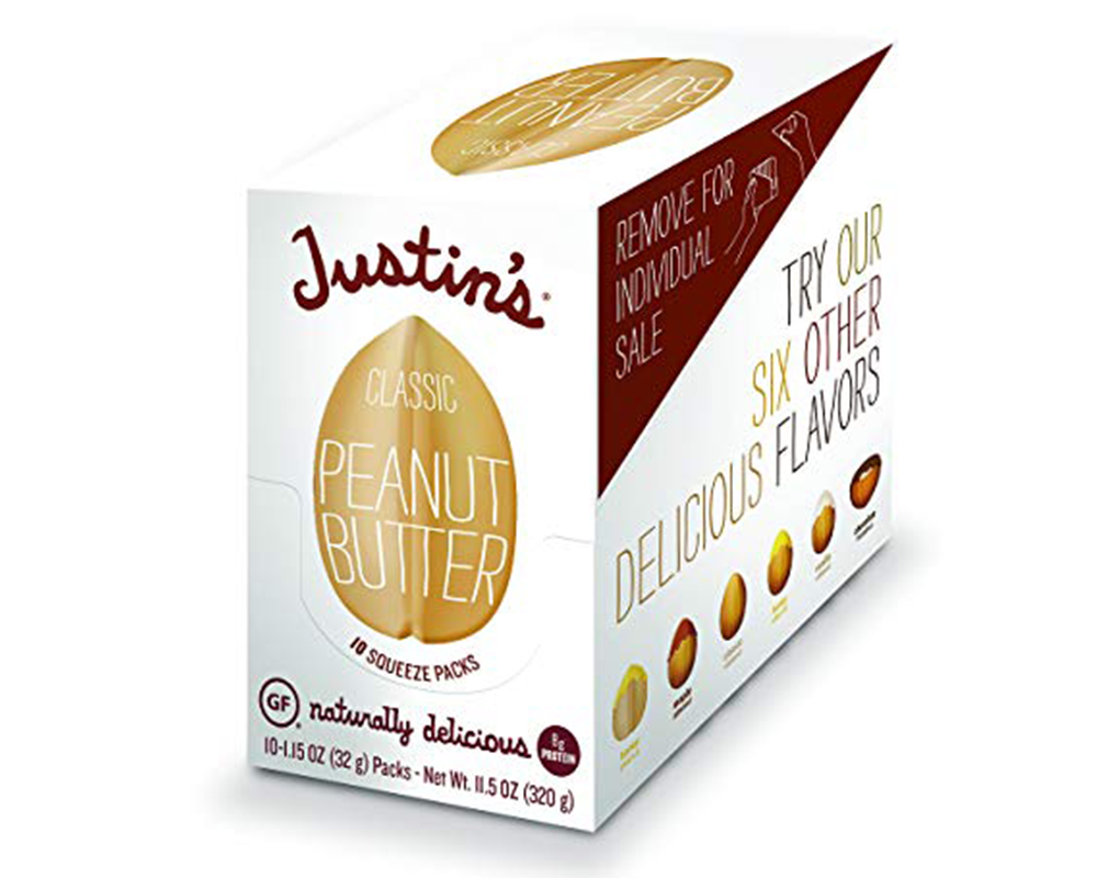 Buy Justin's Peanut Butter squeeze packs online.