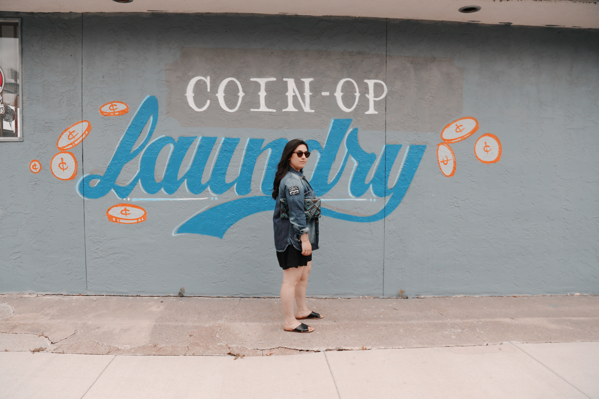 Laundromat Blues - I don't want you to get so clean, babyYou just might wash your life away.