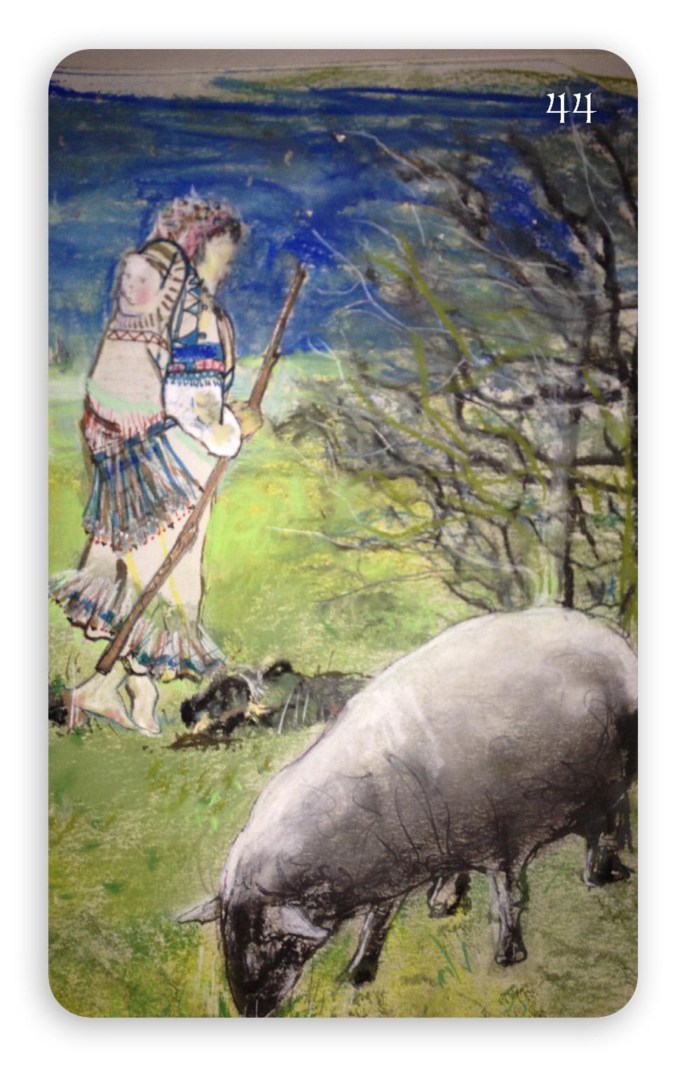 """Shepherdess"" – Be Present"
