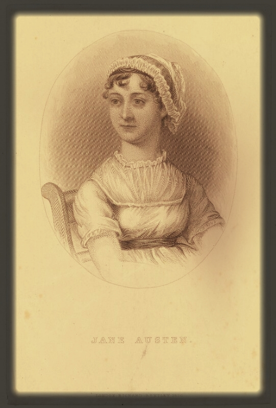 Jane Austen, after Cassandra Austen, published 1870, National Portrait Gallery, London