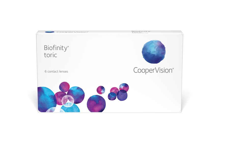 Monthly Toric Contact Lenses