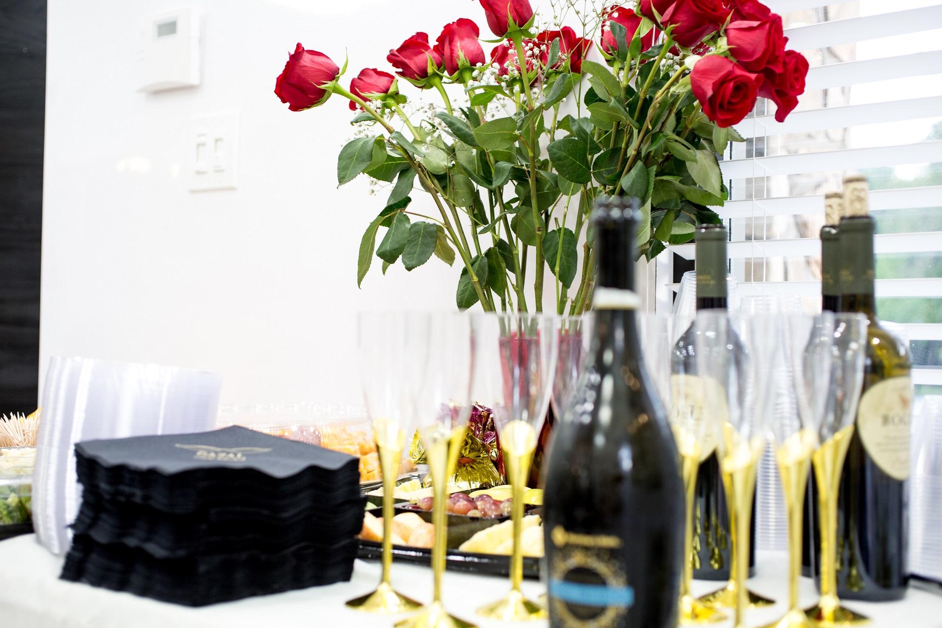 Beautiful Decor & Champagne