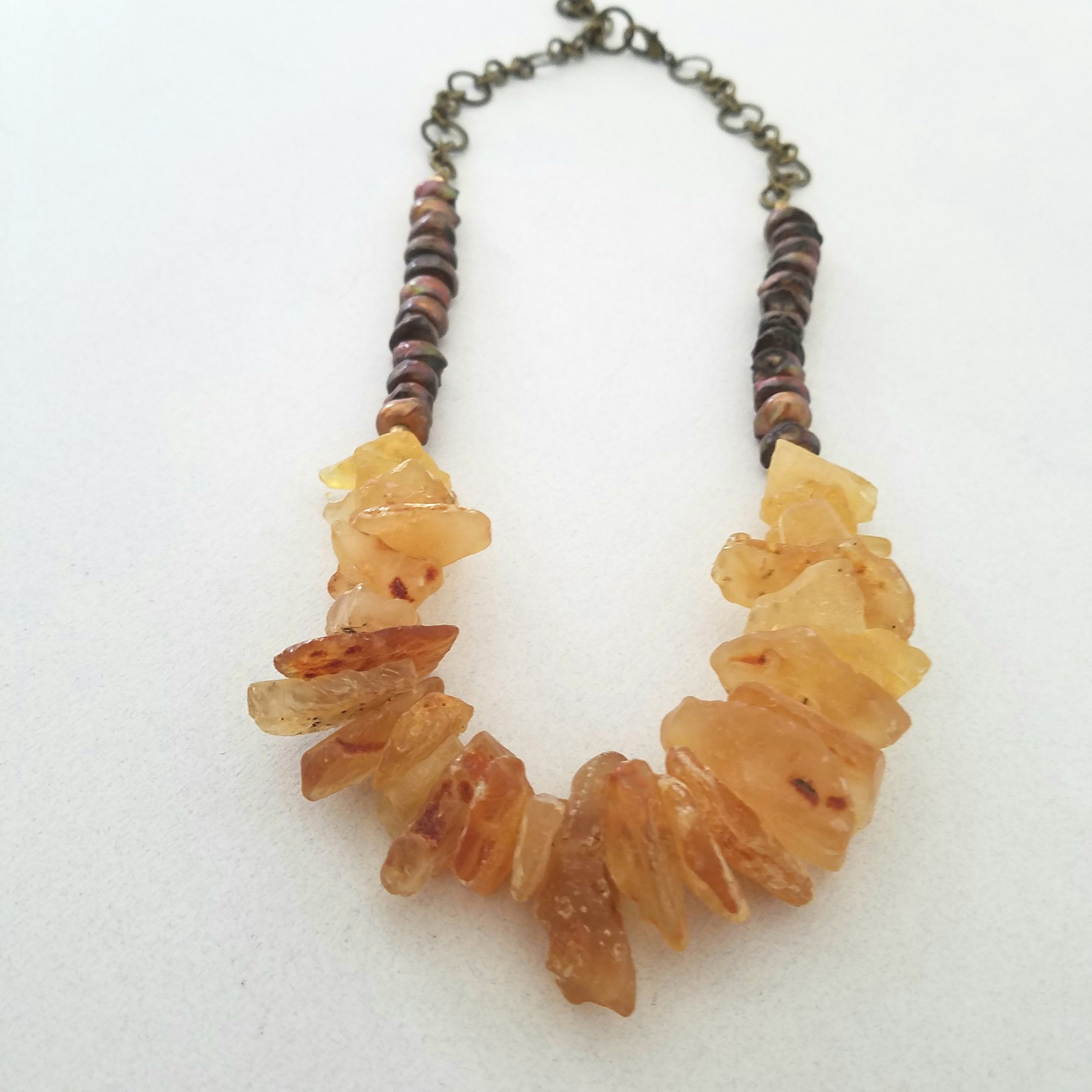 stone amber tribal necklace.jpg