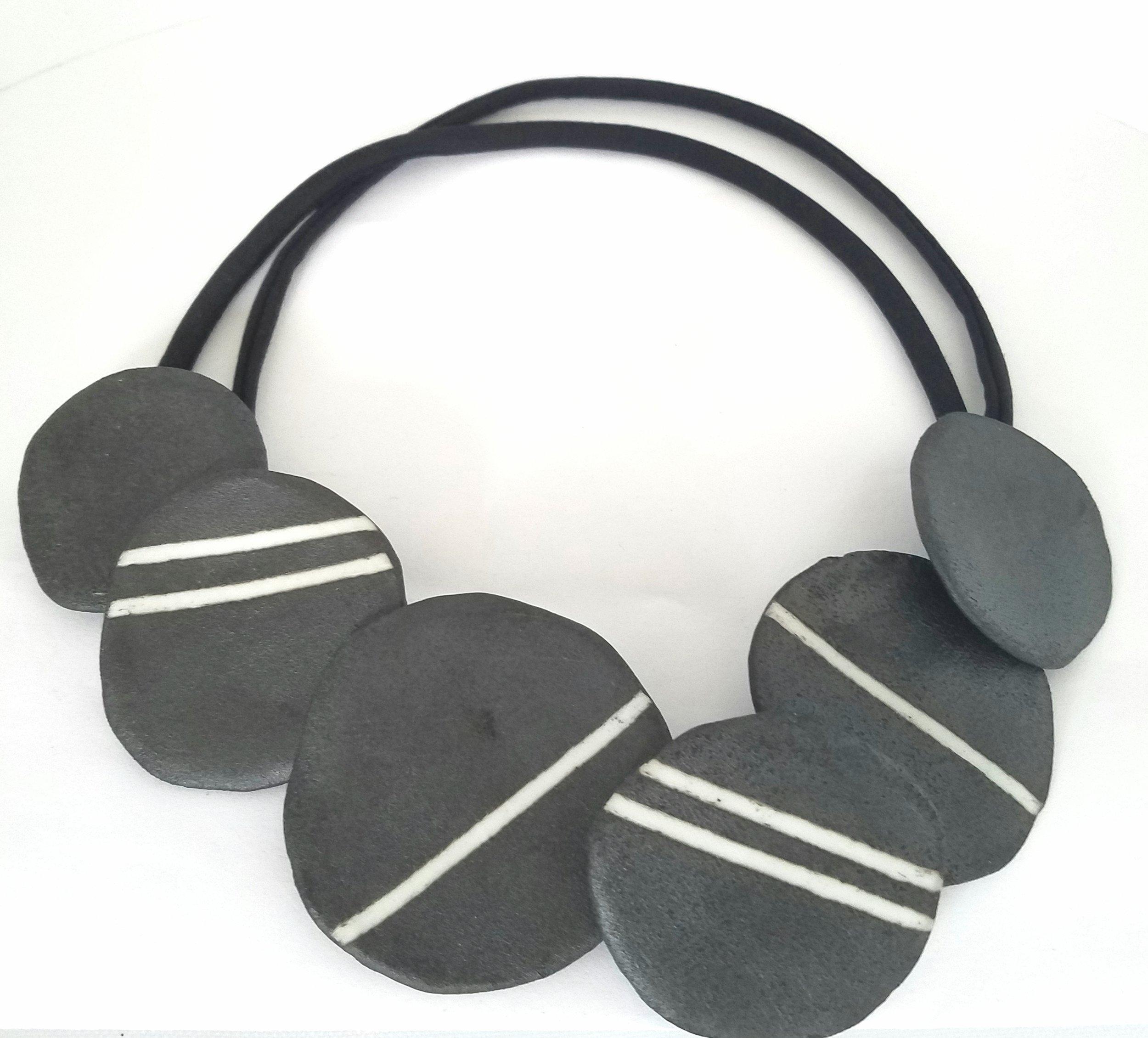 stripes cluster porcelain necklace.jpg
