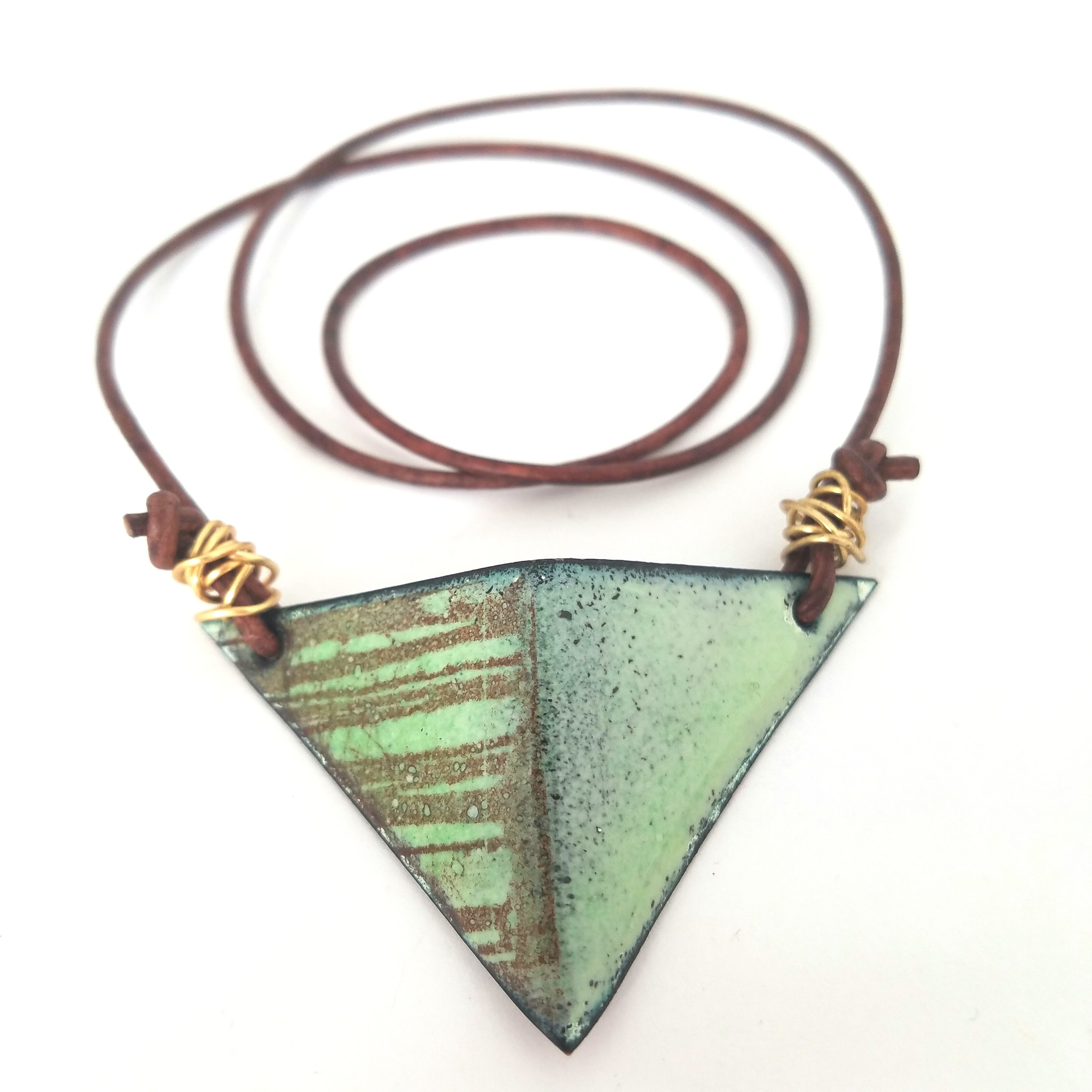 green%2Fbrown triangle pendant.jpg