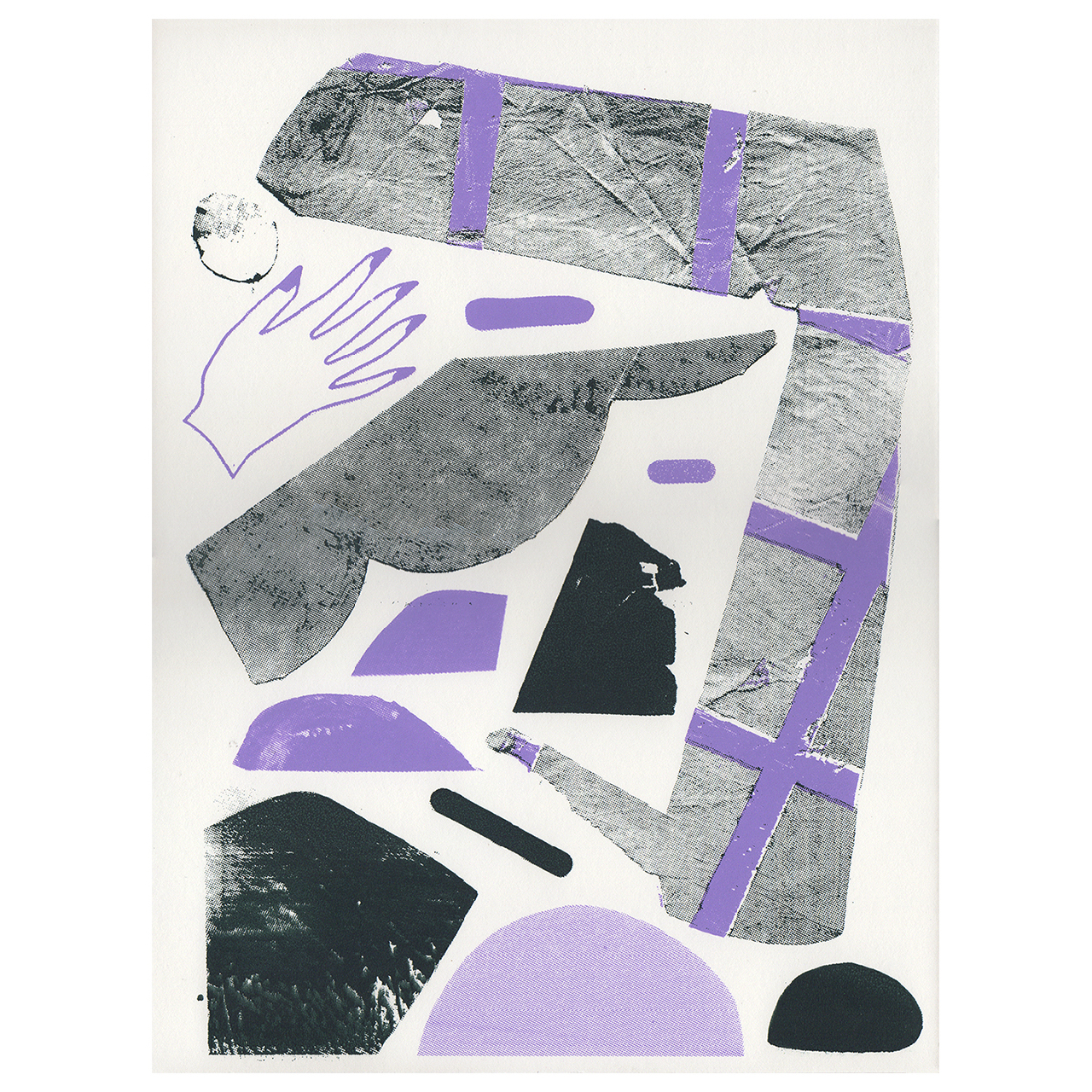 Same Pace 10 Silkscreen Print  -  Sara Willadsen, Same Pace 10, Silkscreen, Edition of 20, 12 x 9 inches, 2018Printed by Zak Worth$25 (plus shipping/handling)