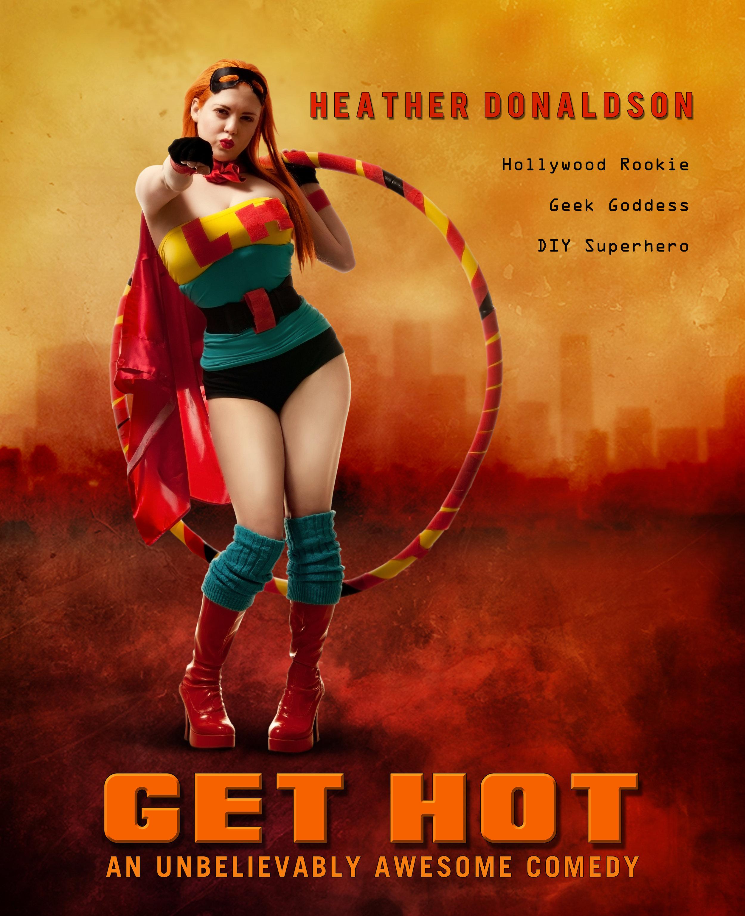 Heather Donaldson: DIY Superhero