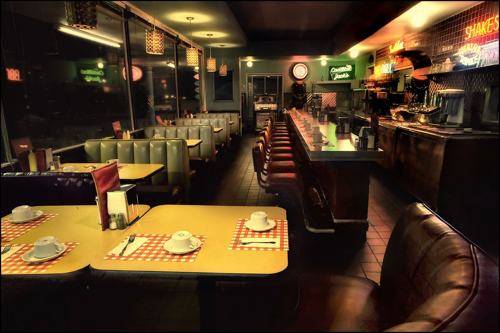 The Diner: shitty food, great people