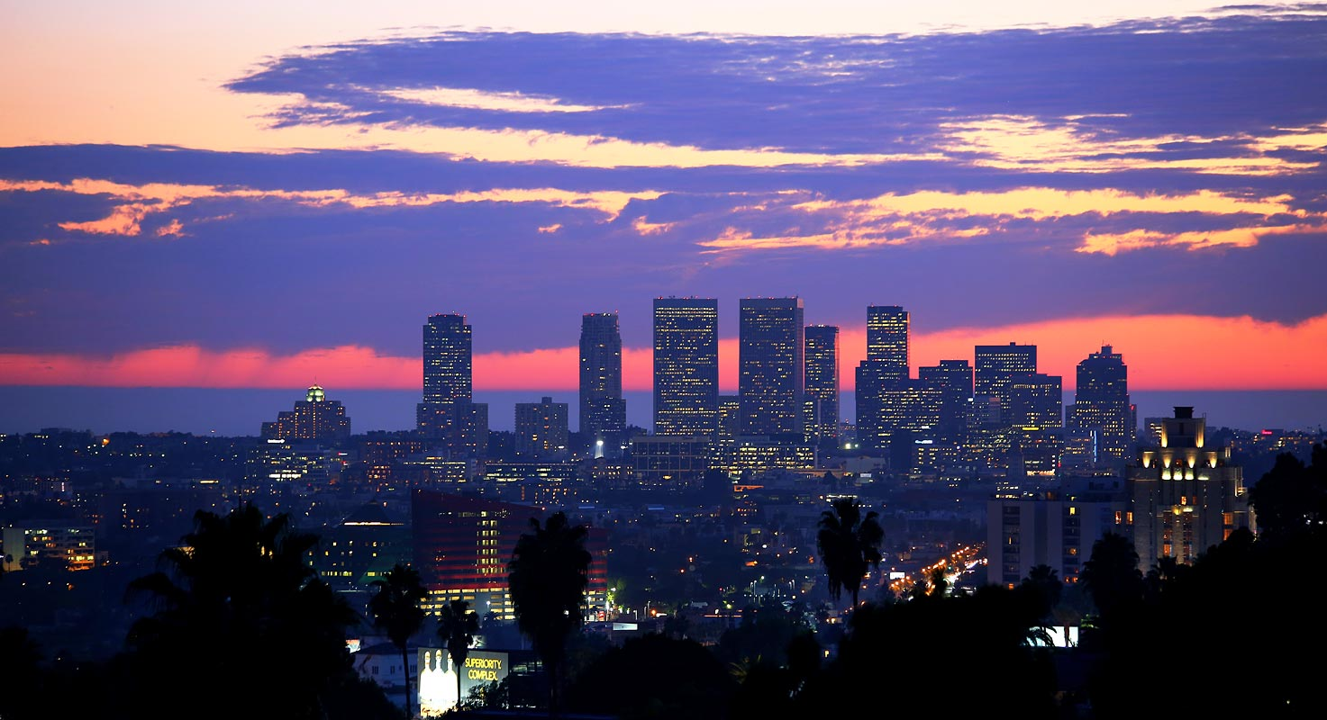 Parker's view of Los Angeles
