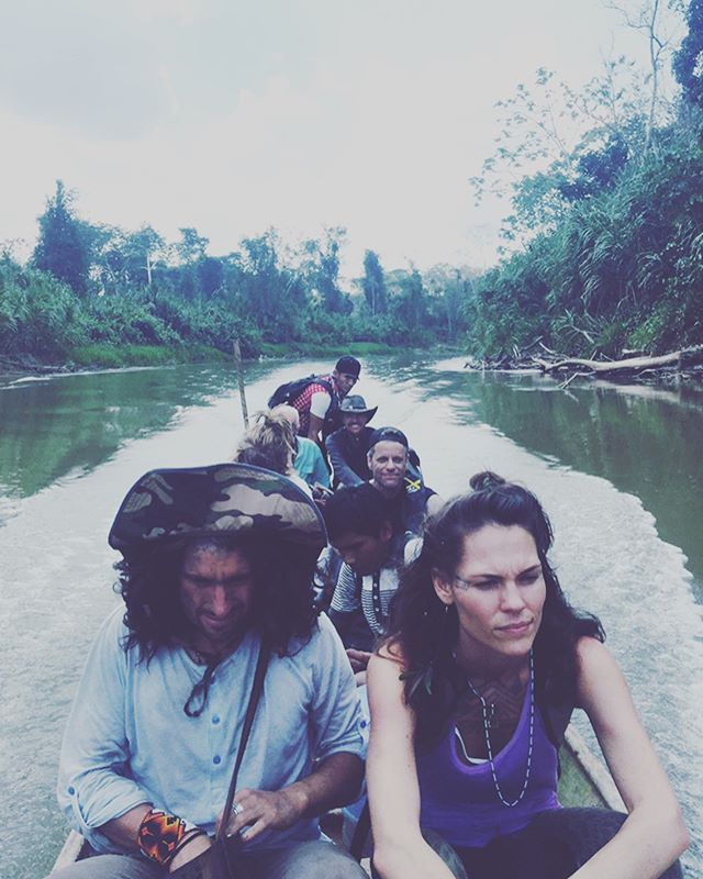 Going back into the jungle in Brazil this year for a 1 month dieta and my heart could not be more excited! Time in deep nature, no technology, my guitar, the songs, the moon, the rivers, indigenous wisdom and plant + animal medicine 🍃🐍 So excited to turn in my computer and surrender to void of the unknown, of simple living and profound learning.  Last night we had a 4 hour call with a group of warrior men and women who are also feeling the call to say yes to this 1 month dieta… can't help but reminisce on my last dieta and feel giddy in my heart for the moments to come.  #amazonrainforest #yawanawaindians #earthmedicine #shamanism #junglewarriorqueen