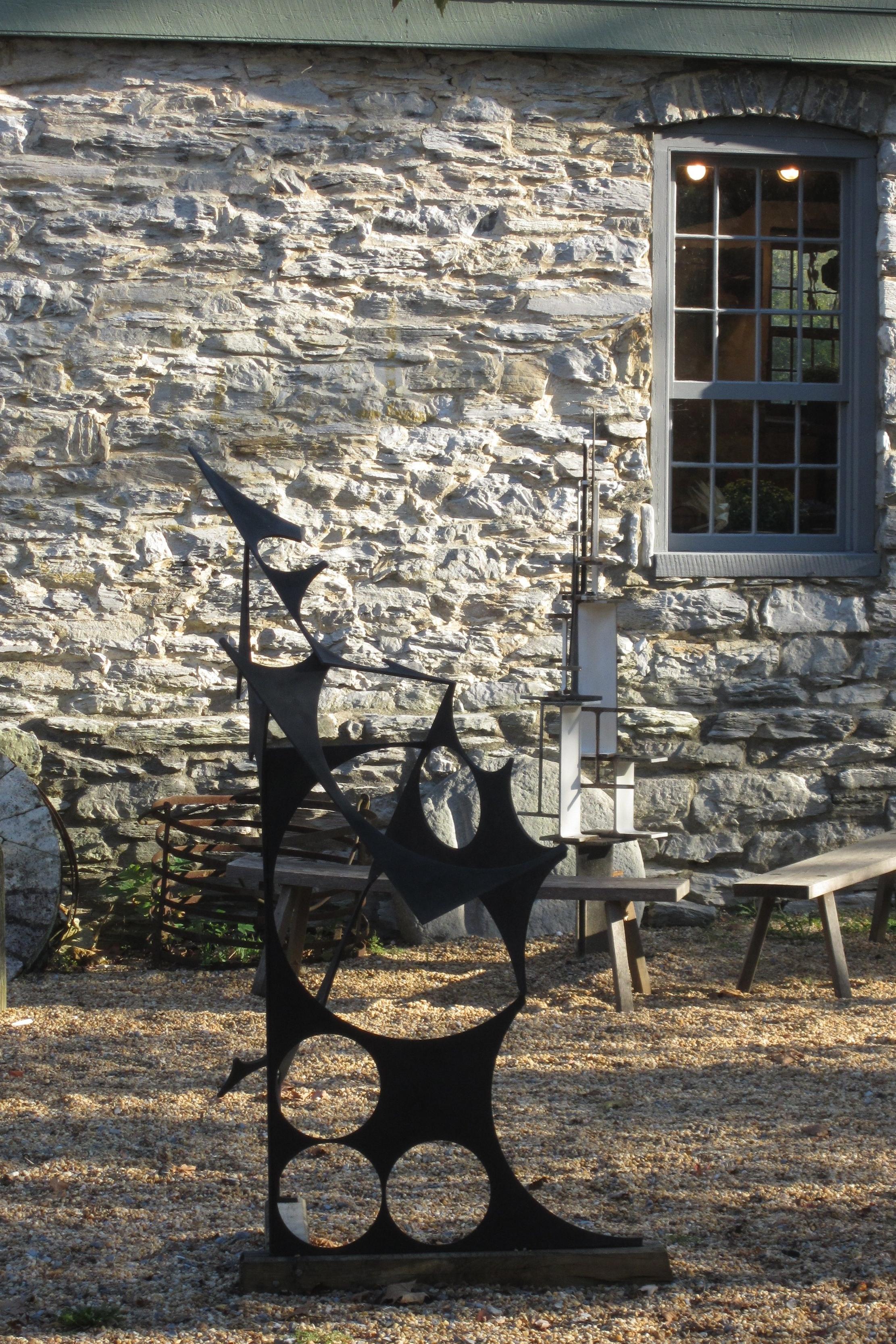 Art at the MIll Tree Steel Sculpture