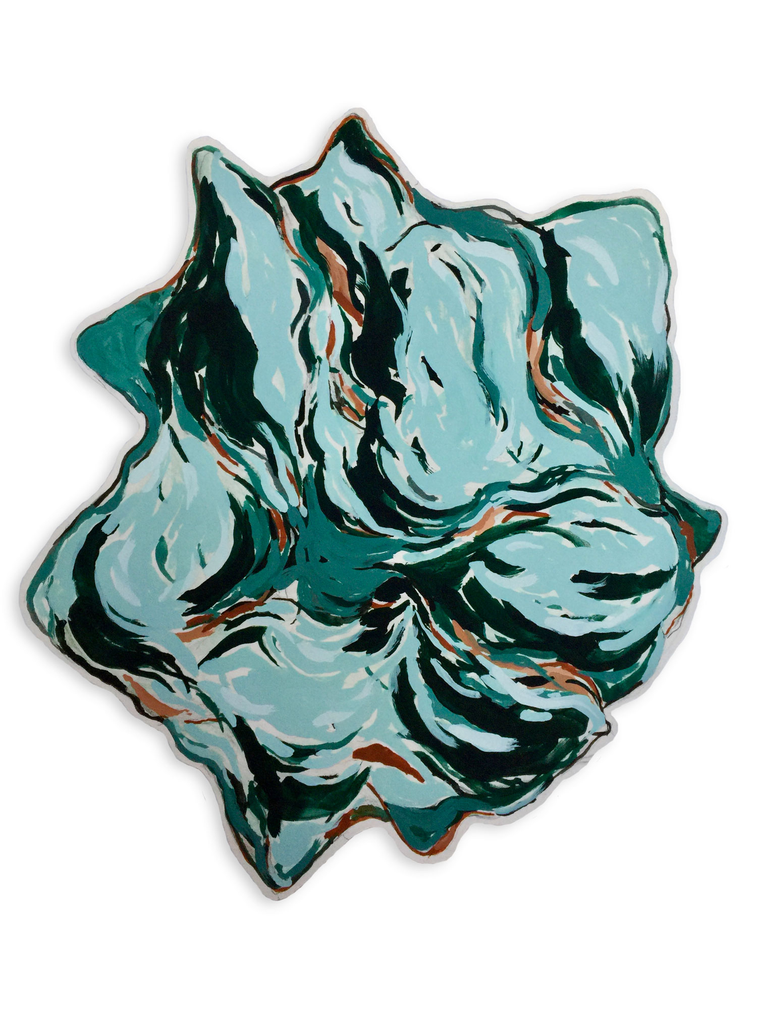 Untitled (Turquoise Conch)