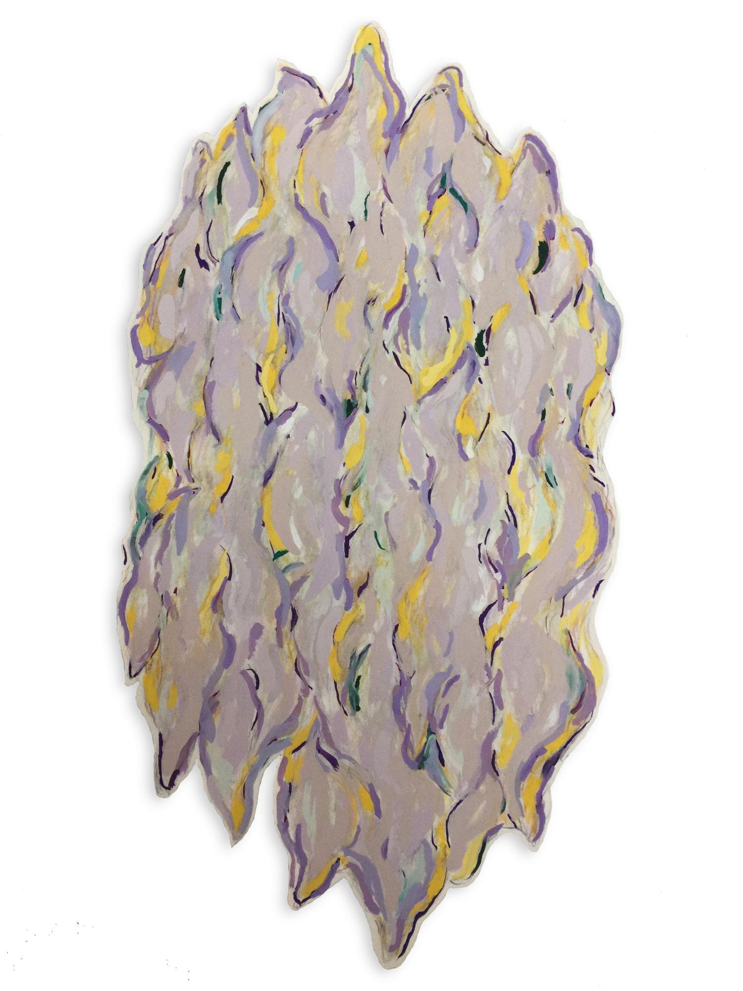 Untitled (Violet Pod)