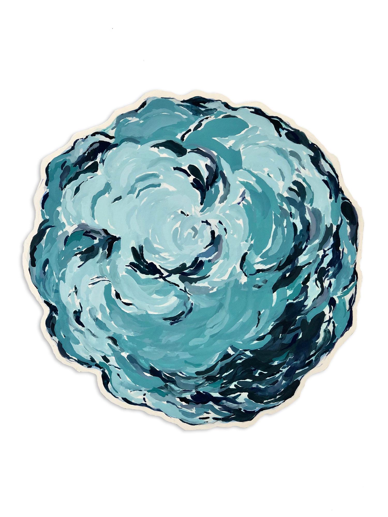 Untitled (Teal Blue)