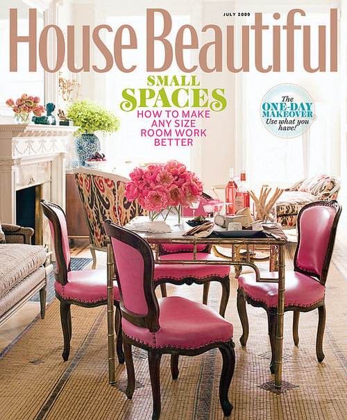 House Beautiful One-Day Makeover: Use What You Have! - Click to read the full article in House Beautiful…