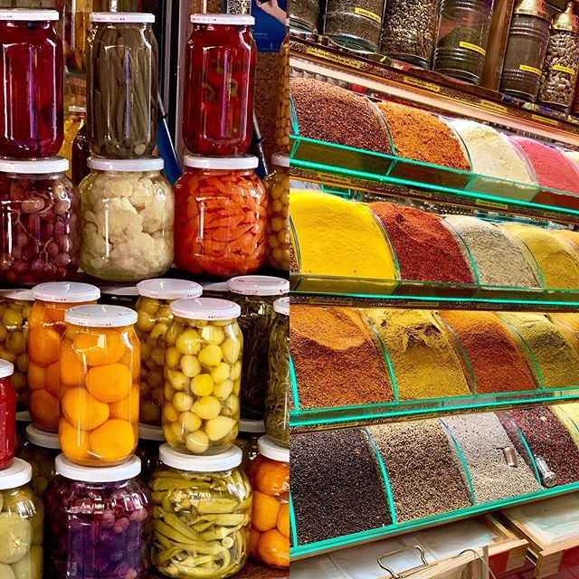 The colors of Istanbul. #spicemarket #streetsofistanbul #ancientmodern #designinspo