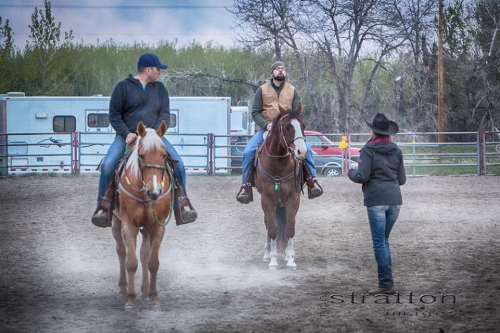 Veteran session with horses - When you're mindful, you carefully observe your thoughts and feelings, without judging them good or bad. You live in the moment and are aware of your current experience, rather than dwelling on the past or anticipating the future. As well, working with horses allows our veteran riders to experience their symptoms of PTSD or Operational Stress Injuries and bring awareness to the effects that has – on themselves and on the horse.
