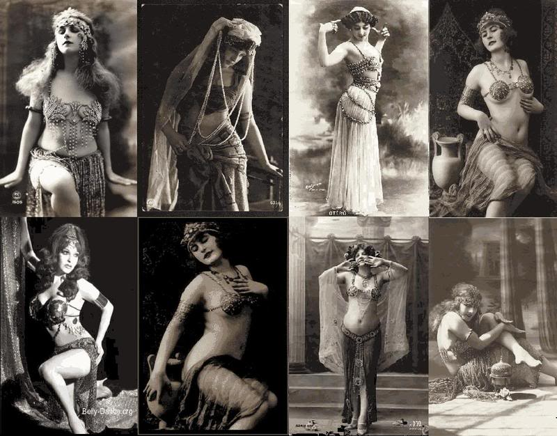 Pictures from the late 19th and early 20th Centuries. Photo courtesy: belladonnabellydance.wordpress.com